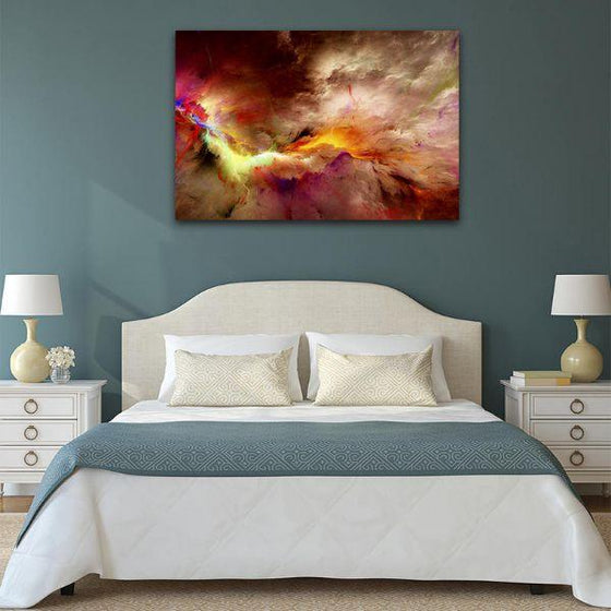 Realistic Abstract Wall Art Bedroom