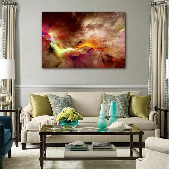 Realistic Abstract Wall Art Living Room