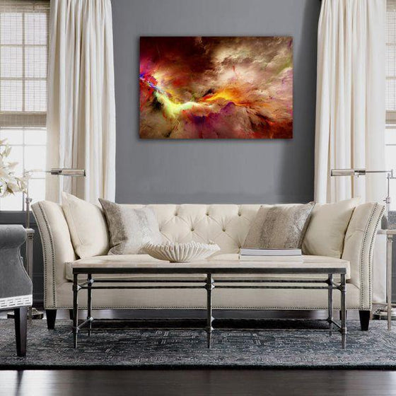 Realistic Abstract Wall Art Print