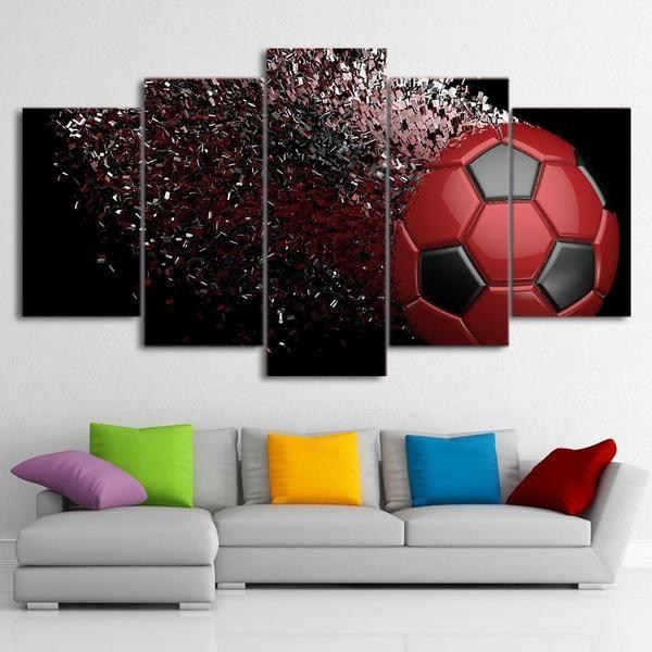 Retro Sports Wall Art Canvases