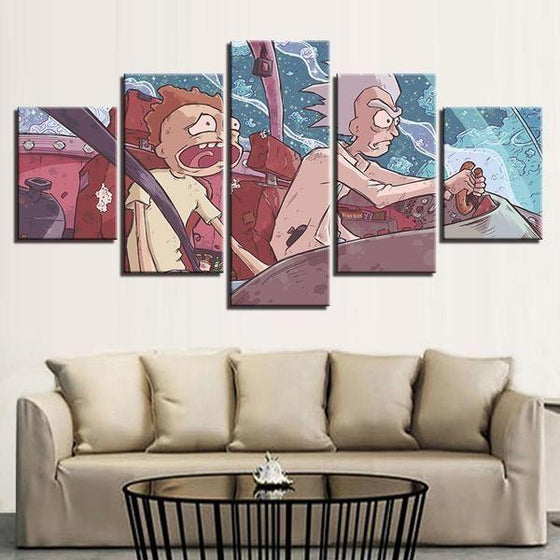 Rick & Morty Wall Art Cheap