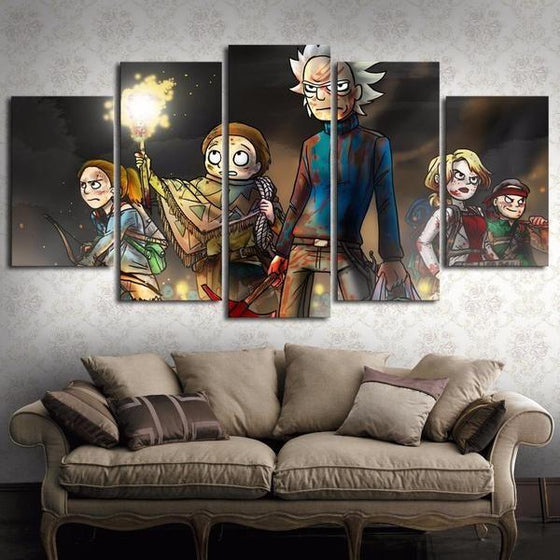 Rick & Morty Wall Art For Sale Decors