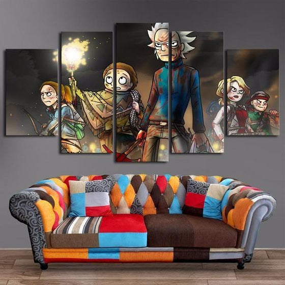 Rick & Morty Wall Art For Sale