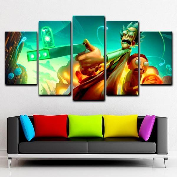 Rick & Morty Wall Art Large Decors