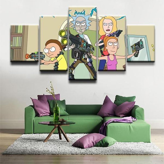 Rick & Morty Wall Art Large Prints