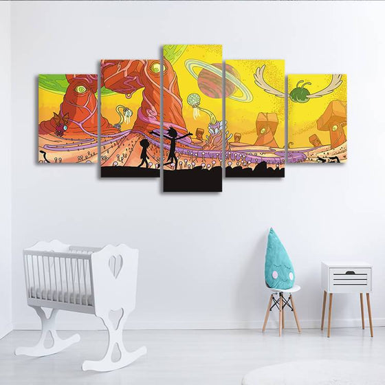 Rick & Morty Wall Art For Sale Ideas