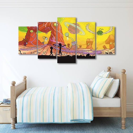 Rick & Morty Wall Art For Sale Print