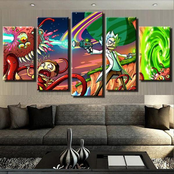 Rick And Morty Canvas Wall Art Ideas
