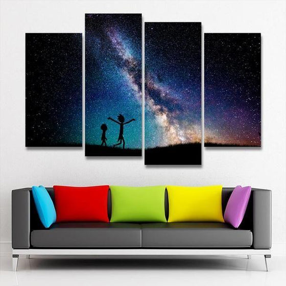 Rick And Morty Wall Art Canvases