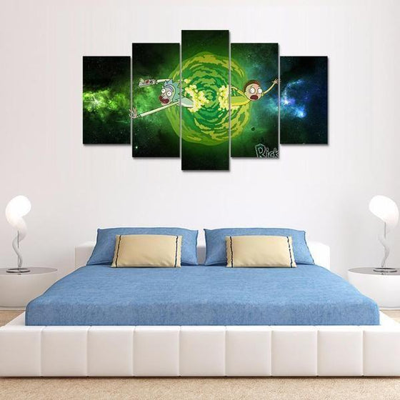 Rick And Morty Wall Art Cheap Canvases