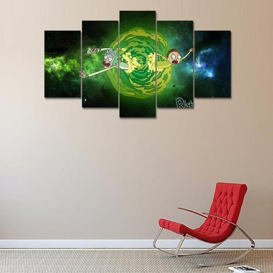 Rick And Morty Wall Art Cheap Decor