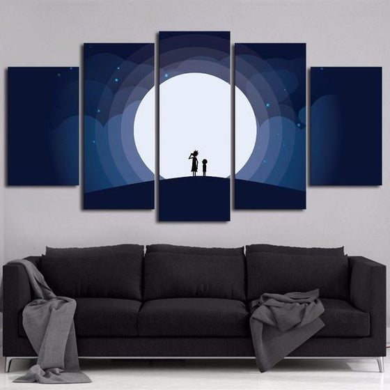 Rick And Morty Wall Art Cheap Idea