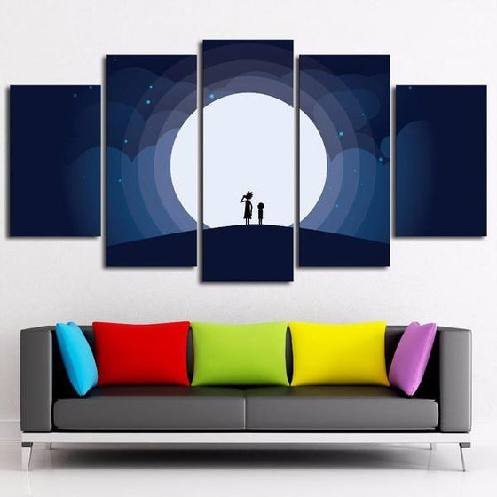 Rick And Morty Wall Art Cheap Print