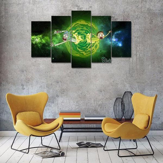 Rick And Morty Wall Art Cheap