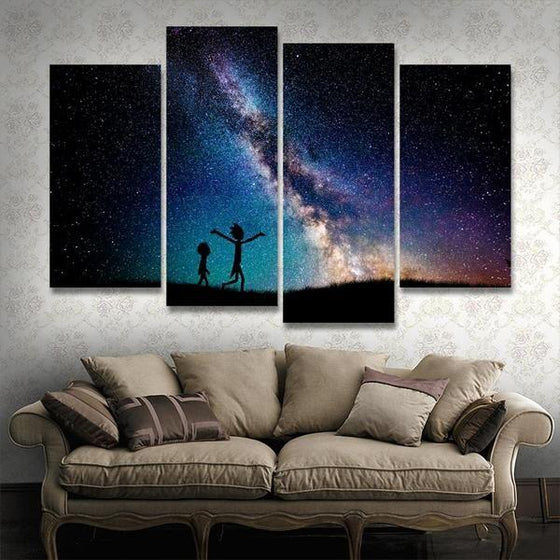 Rick And Morty Wall Art Decor