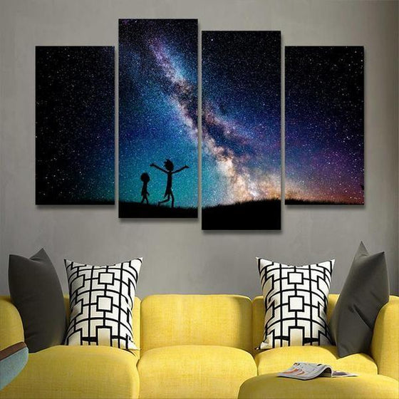 Rick And Morty Wall Art Decors