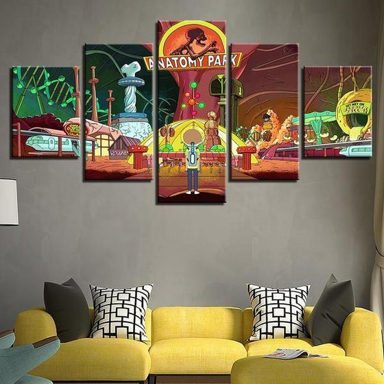 Rick And Morty Wall Art For Sale Canvas