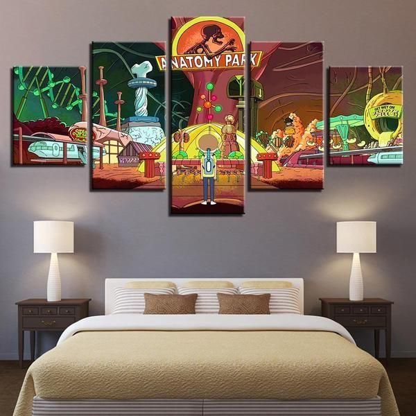 Rick And Morty Wall Art For Sale Canvases