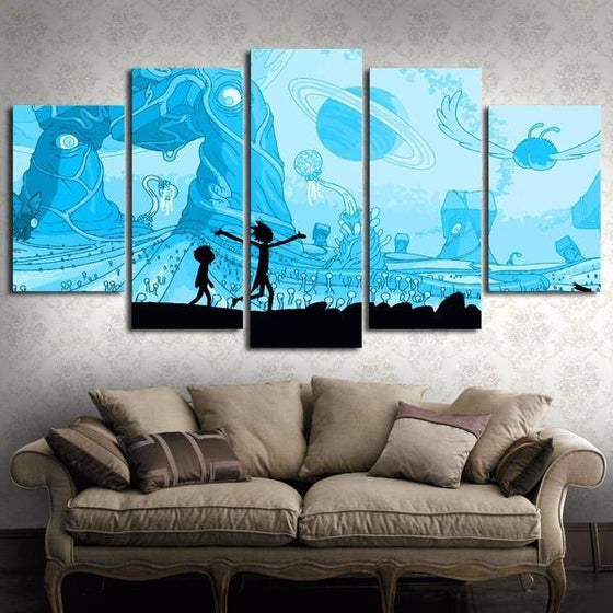 Rick And Morty Wall Art For Sale Idea