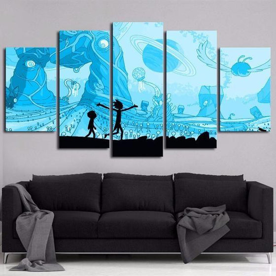 Rick And Morty Wall Art For Sale Ideas