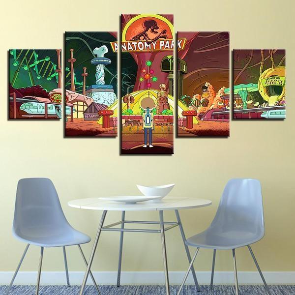 Rick And Morty Wall Art For Sale