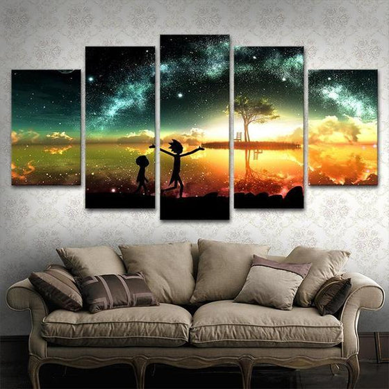 Rick And Morty Wall Art Ideas