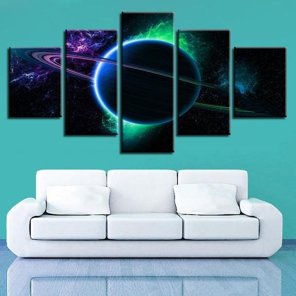 Ringed Planet Wall Art