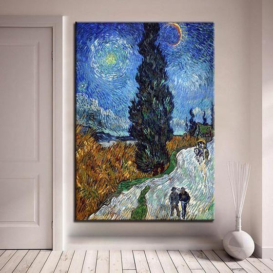 Road To Provence Van Gogh Wall Art Bedroom