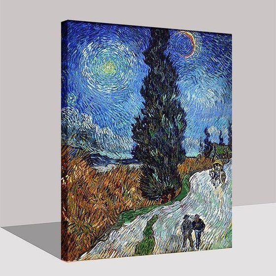 Road To Provence Van Gogh Wall Art Decor