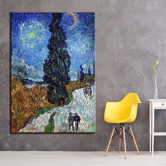 Road To Provence Van Gogh Wall Art Living Room