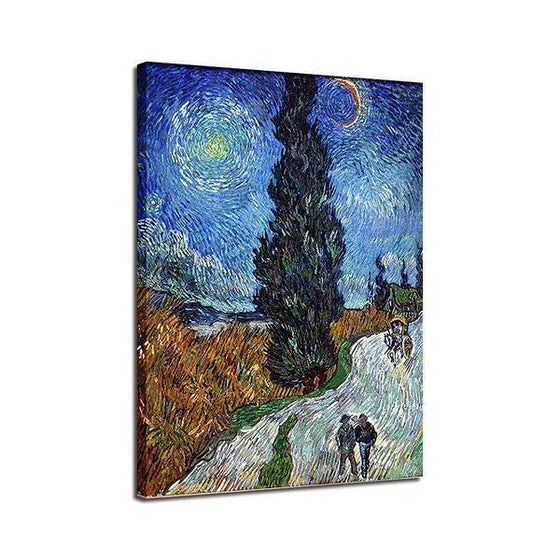 Road To Provence Van Gogh Wall Art Print