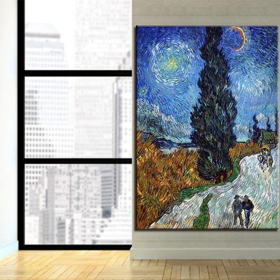 Road To Provence Van Gogh Wall Art
