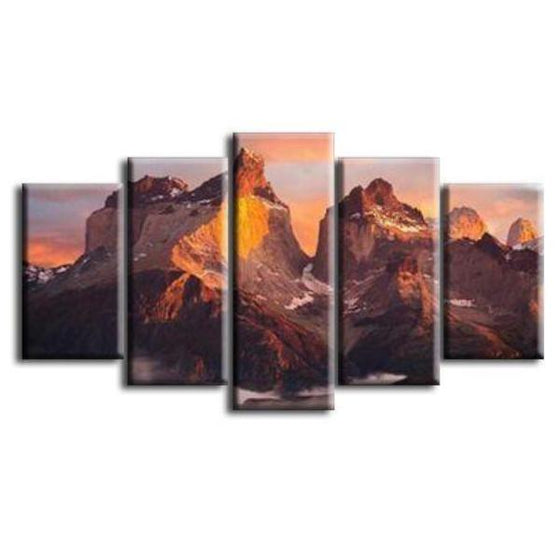 Rocky Mountain Canvas Wall Art