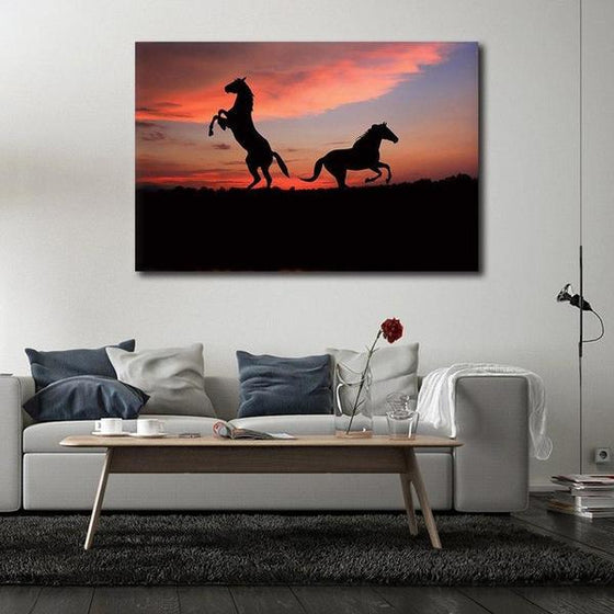 Running Wild Horses Canvas Wall Art Decor