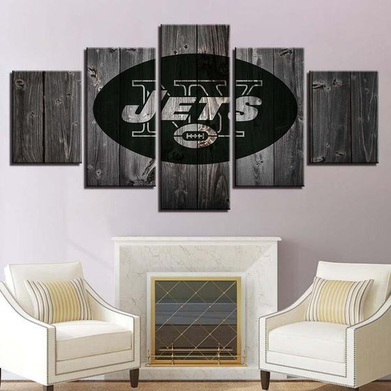 Rustic Sports Wall Art Idea