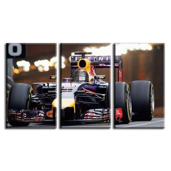 Scuderia Toro Rosso Canvas Wall Art