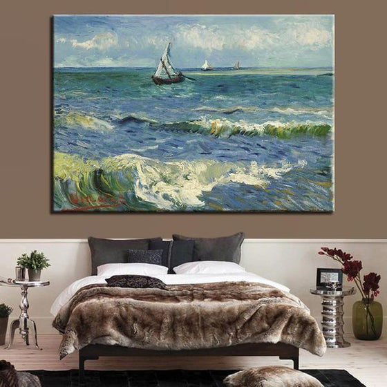 Seascape At Saintes Maries Wall Art Bedroom