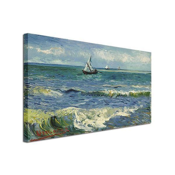Seascape At Saintes Maries Wall Art Decor