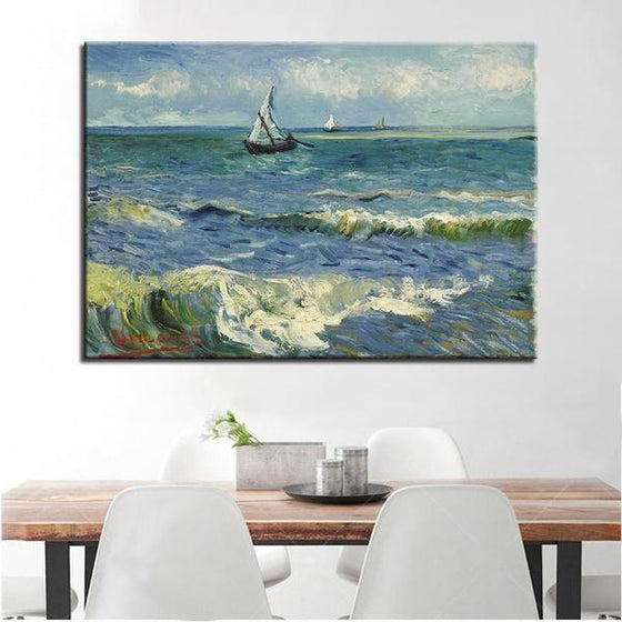Seascape At Saintes Maries Wall Art Dining Room