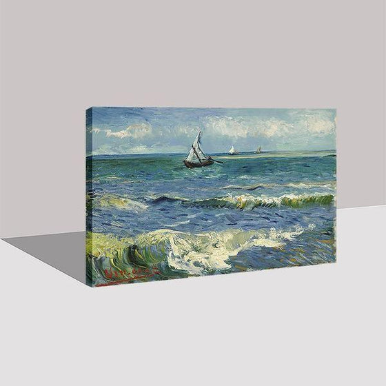 Seascape At Saintes Maries Wall Art Print