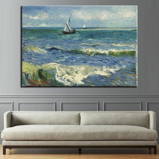Seascape At Saintes Maries Wall Art