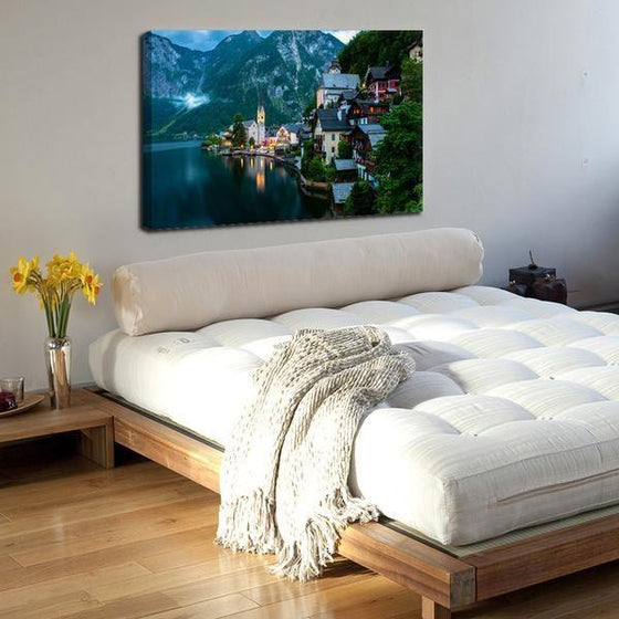 Seaside Village Wall Art Bedroom