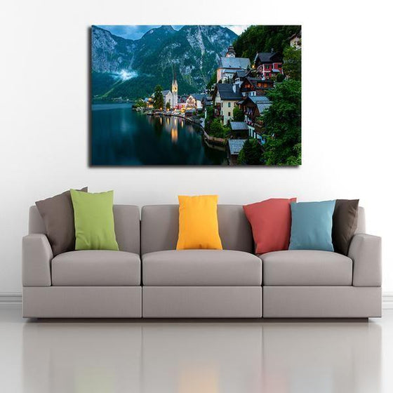 Seaside Village Wall Art Decor