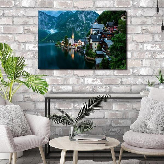 Seaside Village Wall Art Living Room