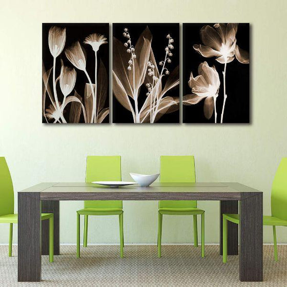 Alluring Flowers Canvas Art