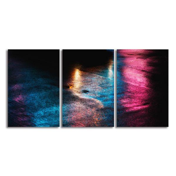 Significant Soul 3-Panel Abstract Canvas Wall Art