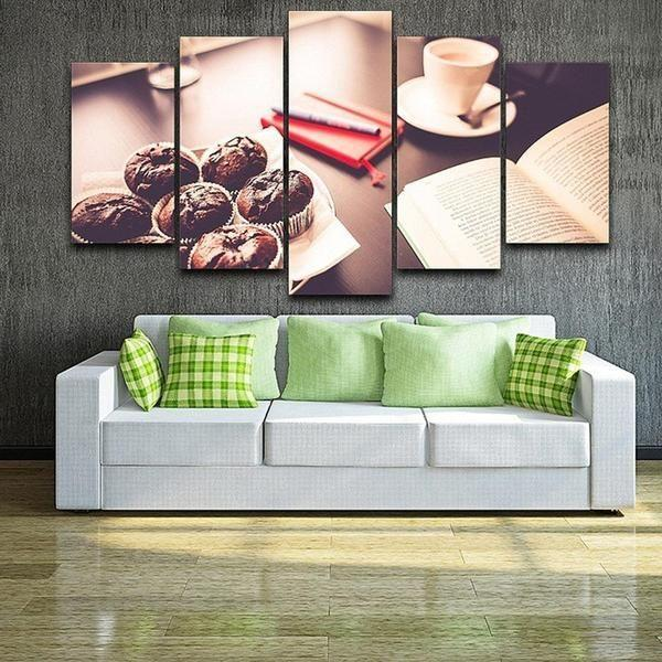 Small Coffee Wall Art Canvas