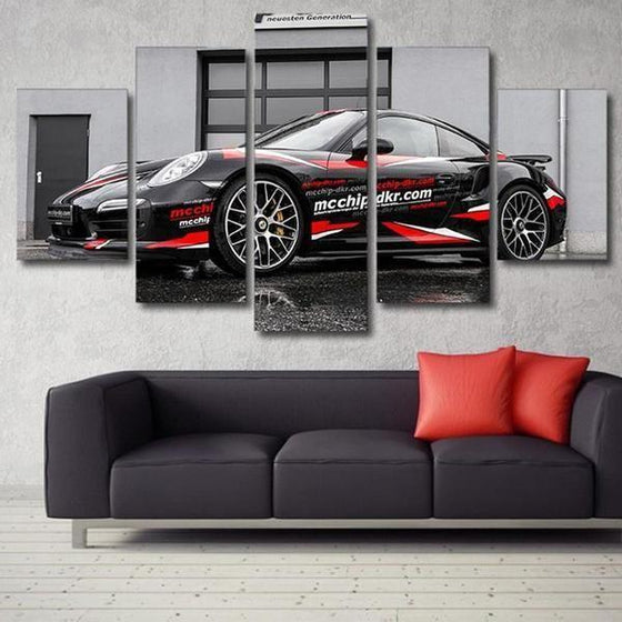 Porsche 911 GT2 RS Canvas Wall Art Living Room