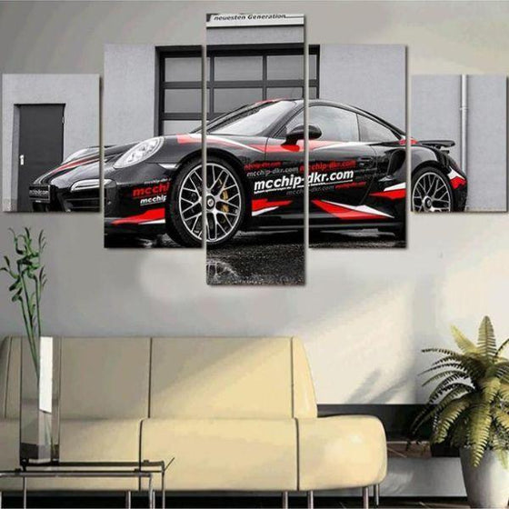 Porsche 911 GT2 RS Canvas Wall Art