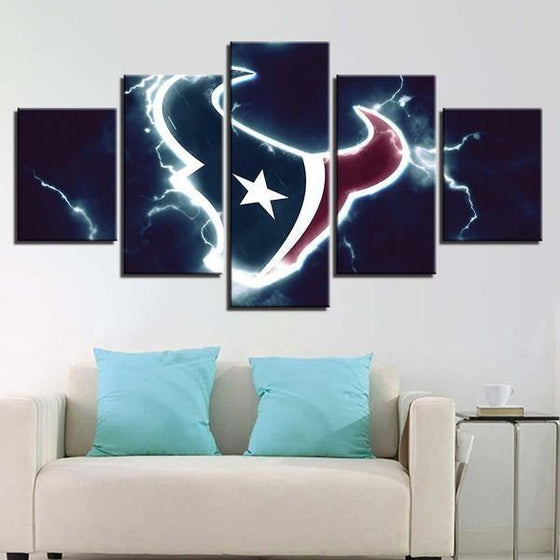 Sports Related Wall Art Idea